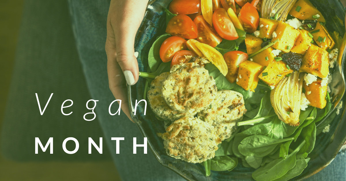 November is World Vegan Month!